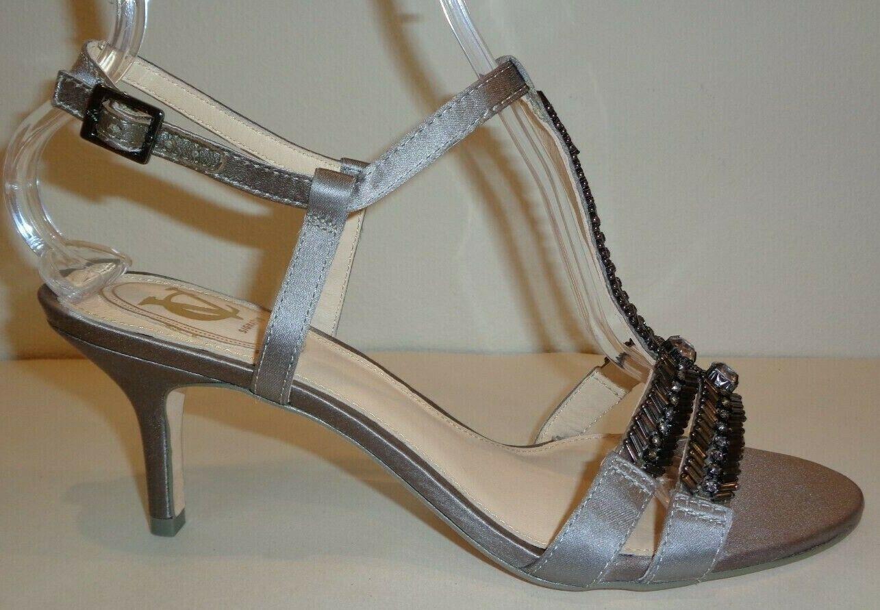 Vince Camuto firma Talla 7 M M M Alicia gris Satén Tacones Sandalias Nuevos Mujer Zapatos  Venta barata