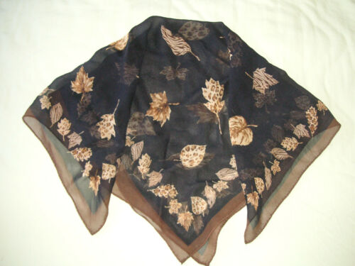 1 silk 1 polyester 1 like silk Mint Condition My Nice 3 Scarves//Shawls