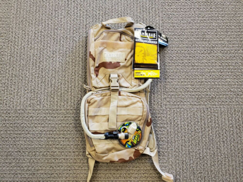 Desert Camo CAMELBACK Ambush Backpack 3L Hydration Bladder