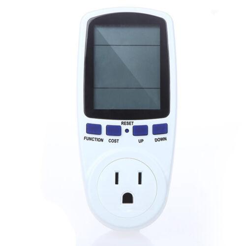 LCD Digital Power Meter Measuring Outlet Socket Watt Voltage Current Analyzer