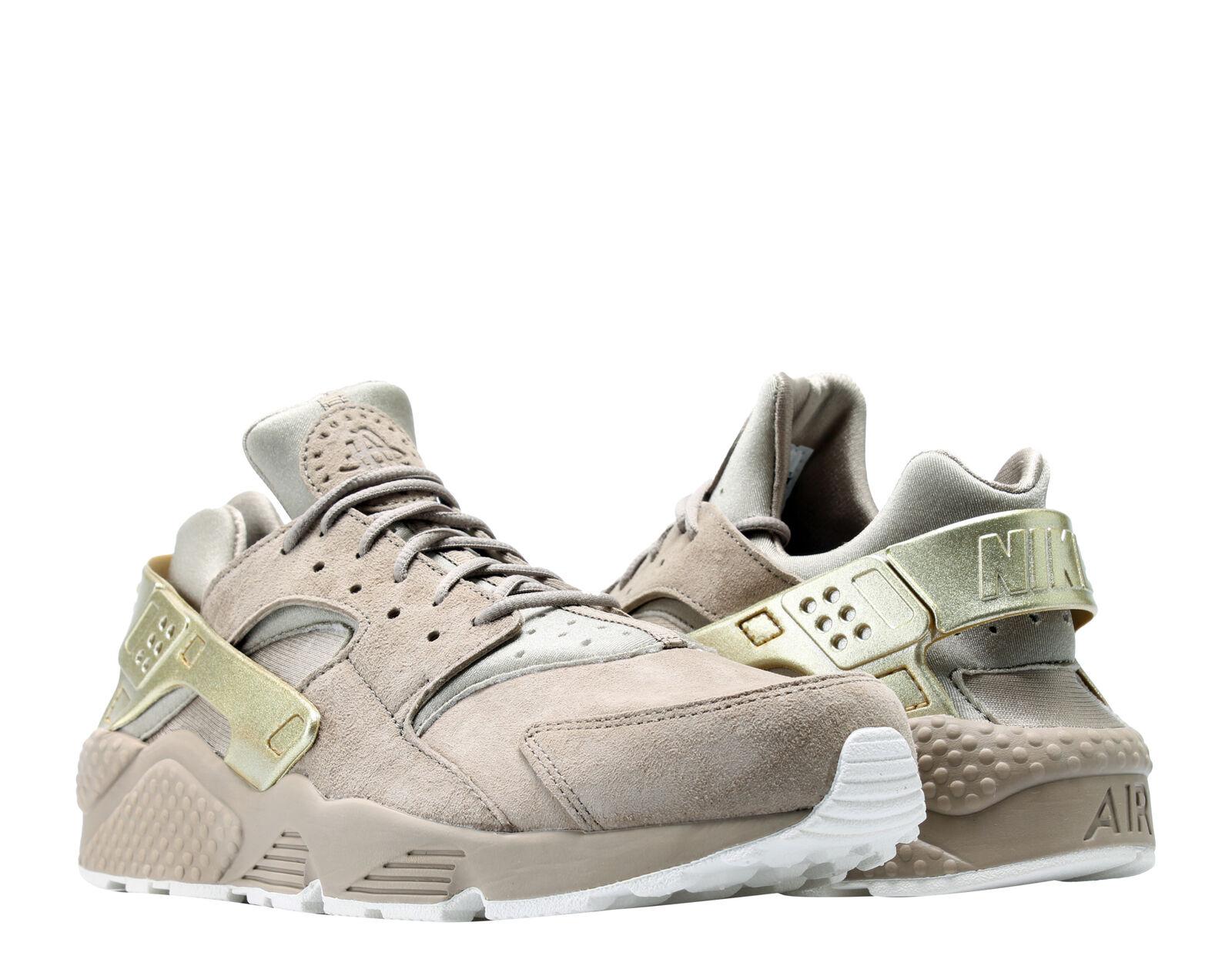 Nike air huarache correre premio cachi / oro vela uomini scarpe da corsa 704830-201