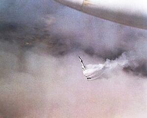XB-70-XB-70A-Valkyrie-Mid-Air-Collision-8x10-Silver-Halide-Photo-Print