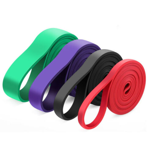 Rubber Resistance Bands Heavy Duty Pull Ring For Gym Exercise Fitness Training