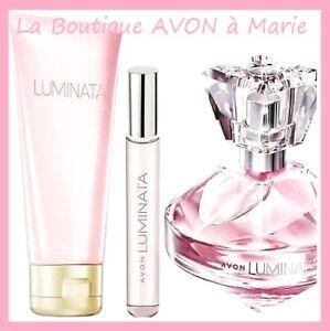 Set Perfume Luminata Vapo Bag Milk Body Avon New Ebay