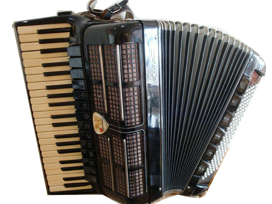 ACCORDION AIDA III 120 bass Beautiful Sound 14 1 6 Register LINGATONE