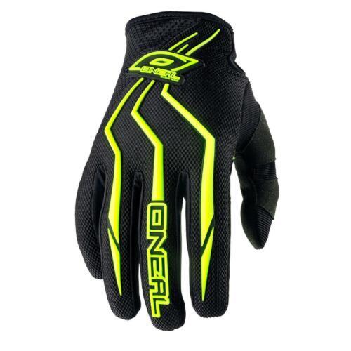 ONeal Element KINDER Handschuhe NEON GELB MX MTB Moto Cross Mountainbike Fahrrad