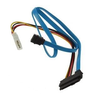 7 Pin Sata Série à Sas 29 Pin & 4 Pin Câble Mâle Adaptateur Convertisseur Cordon Câble-afficher Le Titre D'origine