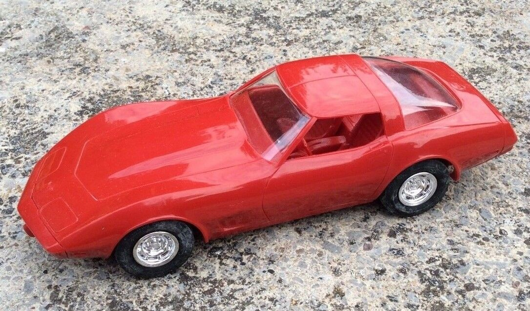 Rare 1 25 1979 CHEVROLET CHEVY CORVETTE Johan Dealer Promo Toy Car EXCELLENT