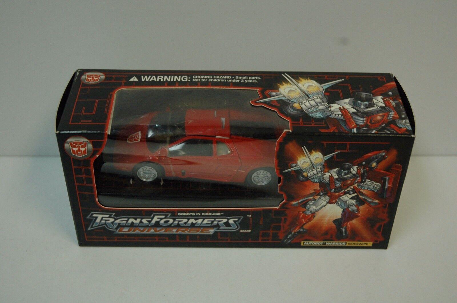 Transformers Transformers Transformers SIDESWIPE AUTOBOT WARRIOR Universe MIB Botcon bfdd3a