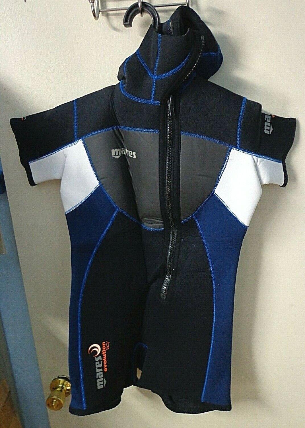 Mares 7+5mm Evolution Lady Wetsuit  w Hood Woman Size 4 Scuba Dive Diving 1-Piece  best prices