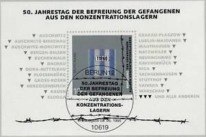 BRD-1995-KZ-Befreiungsblock-Nummer-32-mit-Berliner-Ersttags-Sonderstempel-1A