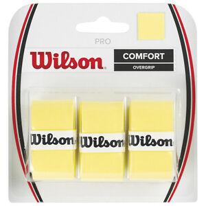 3-Wilson-Pro-Grips-Overgrips-Yellow-Free-P-amp-P