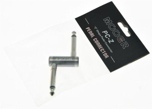 "MOOER PC-Z Guitar Effect Pedal Connector 1//4/"" Z Shape Pedal Connector"