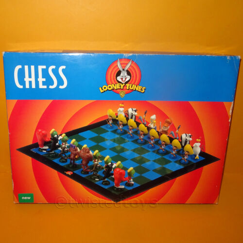 1999 CHARACTER GAMES WARNER BROS. WB LOONEY TUNES CHESS SET GAME BOXED