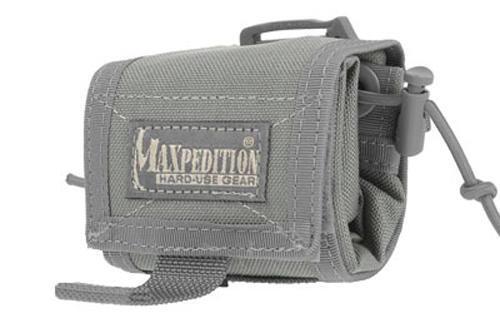 "Maxpedition MX208F Rollypoly Foliage Green Folding Dump Pouch 3/"" x 3/"" x 1.75/"""