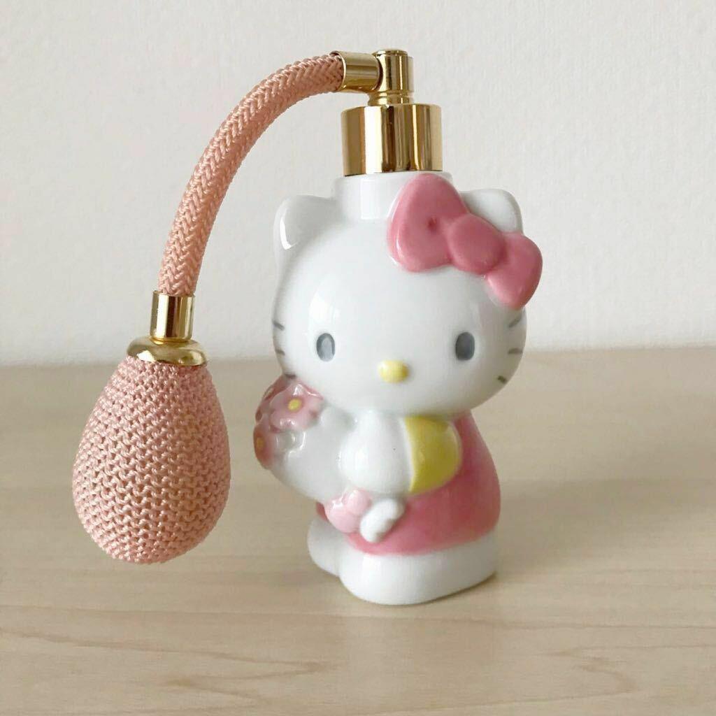 Hello Kitty Parfum Flasche Zerstäuber Töpferei 1997 Sanrio Japan Best Deal F S