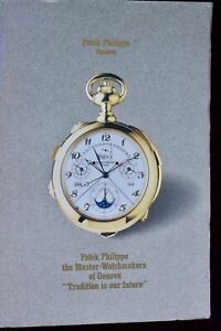 1990-vintage-Patek-Philippe-44-pg-rare-book-shows-assembly-creation-of-Pateks