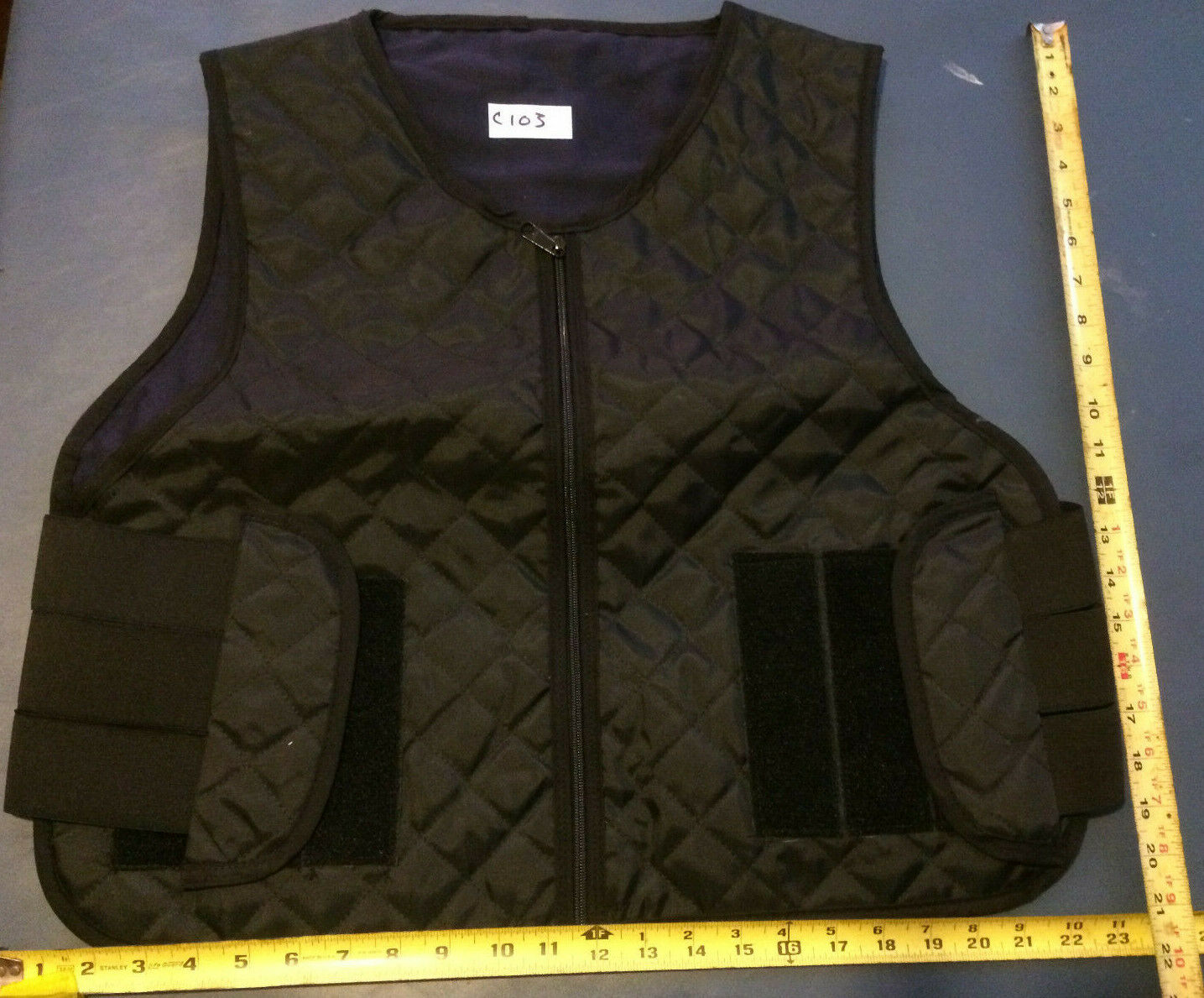 BULLET PROOF VEST CARRIER XLRN   TACTICAL CONCEALABLE  C103  all goods are specials