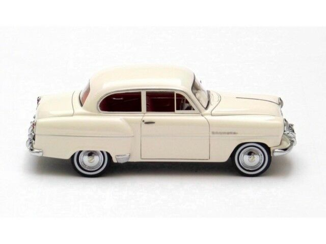 Opel Olympia Limousine White 1954, 1954, 1954, model cars 1 43 800962