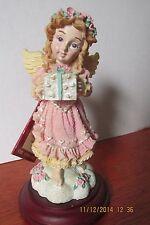 1996 House of Lloyd THE GIVING ANGEL figurine Christmas Around The World