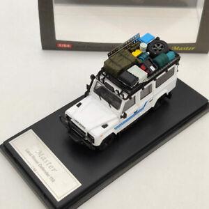 Master-Land-Rover-Defender-110-Diecast-Modelo-Coche-con-portaequipajes-3-Colores-1-64