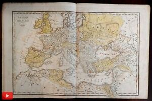 Atlas-Ancient-Geography-c-1820-Boston-Hilliard-Gray-Worcester-w-5-maps
