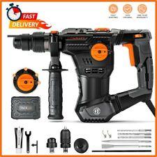 Rotary Hammer Drill 123 Amp1 14 Sds Plus Heavy Duty Demolition Hammer