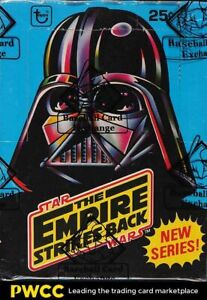 1980 Topps Star Wars Empire Strikes Back Series 2 Wax Box, 36ct Packs, BBCE AUTH