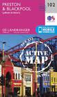 Preston & Blackpool, Lytham by Ordnance Survey (Sheet map, folded, 2016)
