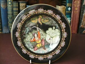 Villeroy amp BochMarches From Old RussiaZar Saltan Cabinet Plate by Gero Trauth - <span itemprop=availableAtOrFrom>Lancashire, United Kingdom</span> - A full refund will be given less postage and packaging if the item is returned within 7 days UK - 14 days overseas, in the original packaging and in the condition it was sent out, proo - Lancashire, United Kingdom