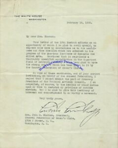 Calvin-Coolidge-signed-letter-declining-position-on-Operatic-amp-Allied-Arts-Cncil