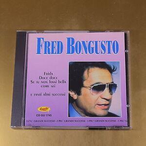 FRED BONGUSTO - I SUCCESSI - GU 1745 - OTTIMO CD [AI-185]