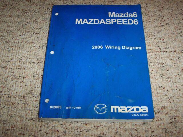 2006 Mazda6 Mazda 6 Mazdaspeed Mazdaspeed6 Electrical