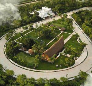 Lote Residencial 600 m2  La Reserva Mérida Yucatan Exclusividad Casa Club en Carretera Chicxulub