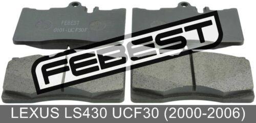 Disc Brake 2000-2006 Front For Lexus Ls430 Ucf30 Pad Kit