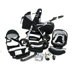 car base ISOFIX Pram Kunert VIP Stroller Pushchair Carseat Kinderwagen
