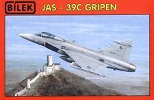 JAS 39 C GRIPEN W/PHOTO-ETCHED PARTS (CZECH AF MARKINGS)  1/72 BILEK (saab)