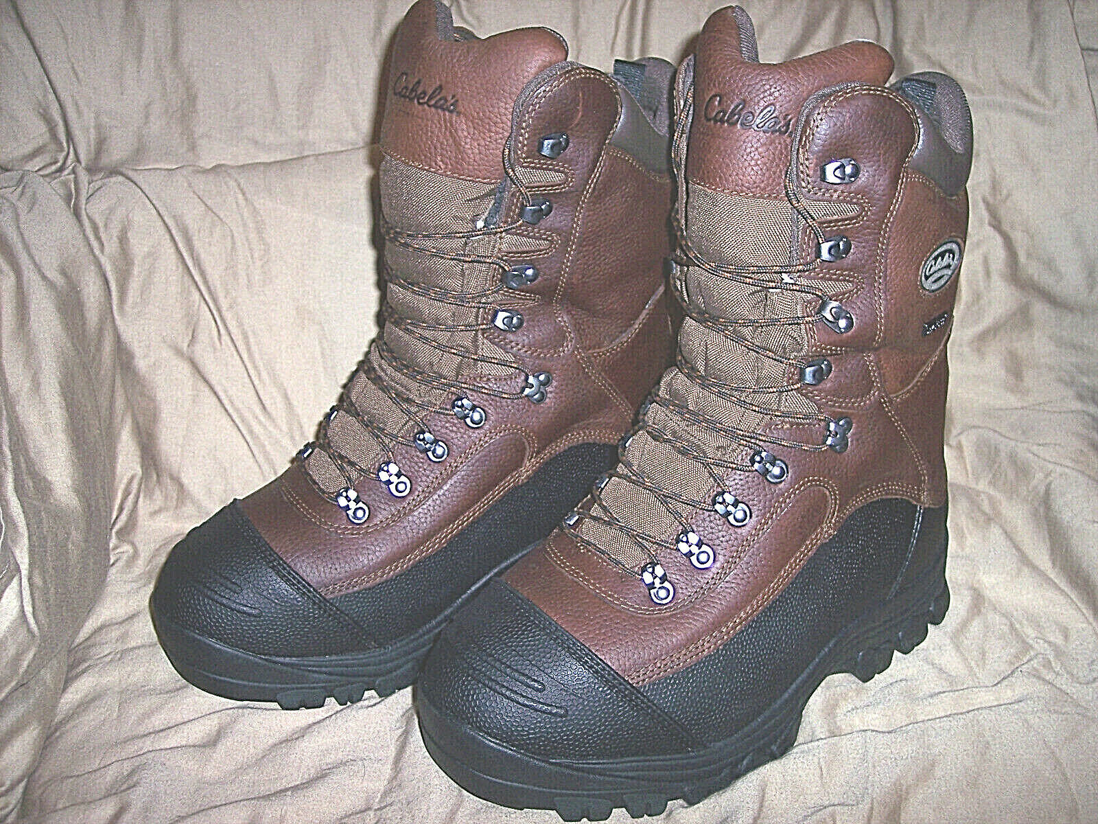 Mens 11 Boots 1200 Gram Insulated Hunting Boots Extreme Cold Weather Pac Boots