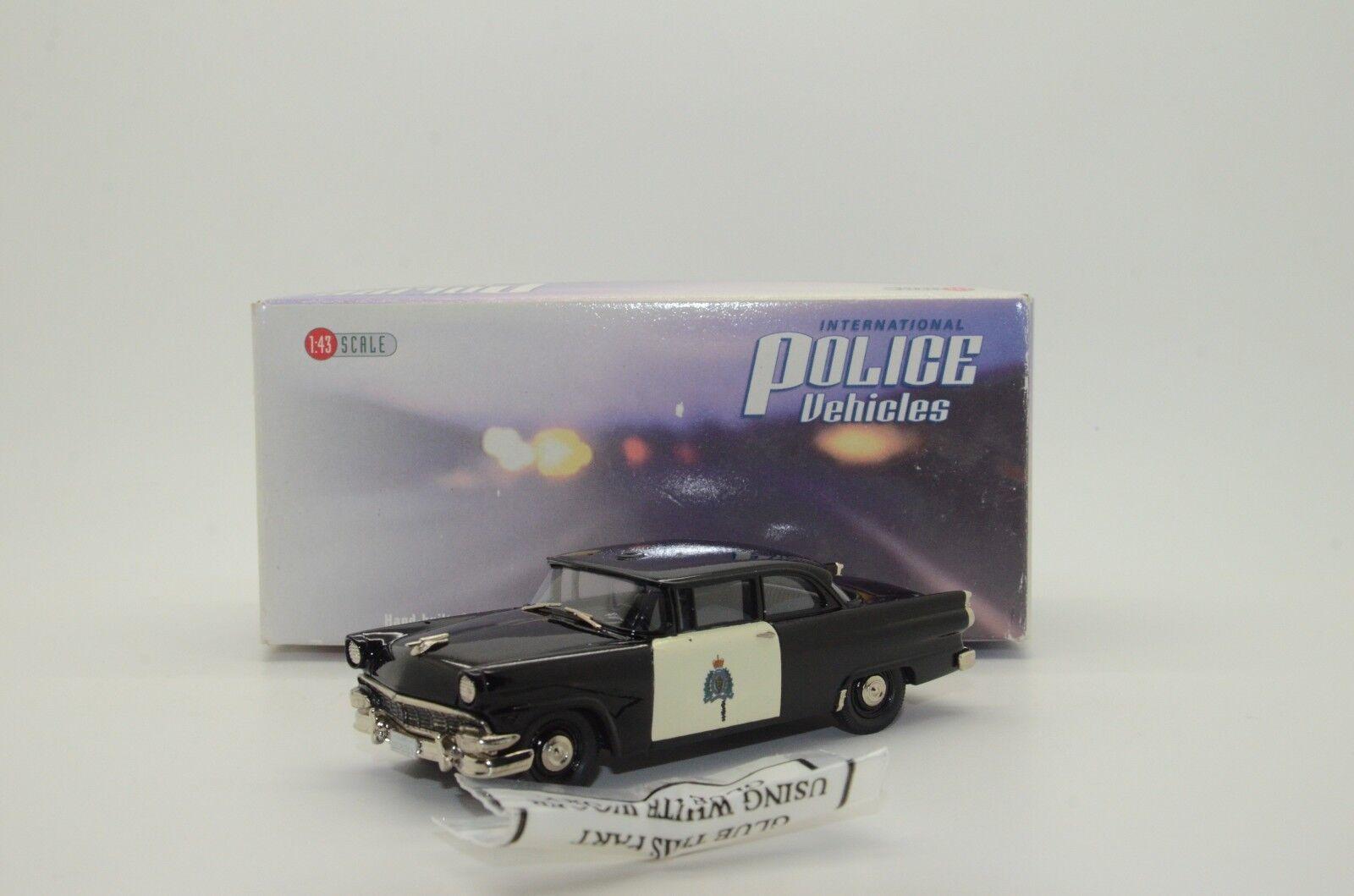 Ford in den r.c.m.p. polizeiauto 1956 brooklin ipv 25 1   43