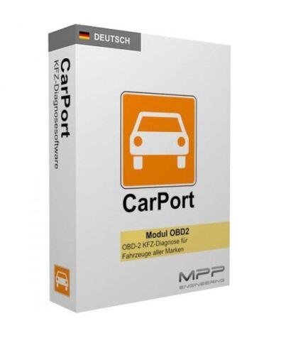 OBD Diagnose Lizenz-Schlüssel CarPort PRO KKL SOFTWARE für VW Audi Seat Skoda
