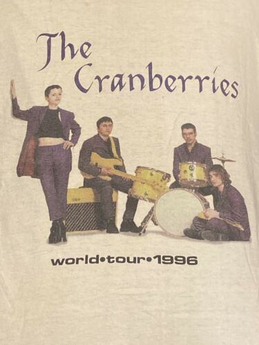 Vintage cranberries 1996 Free To Decide World Tour