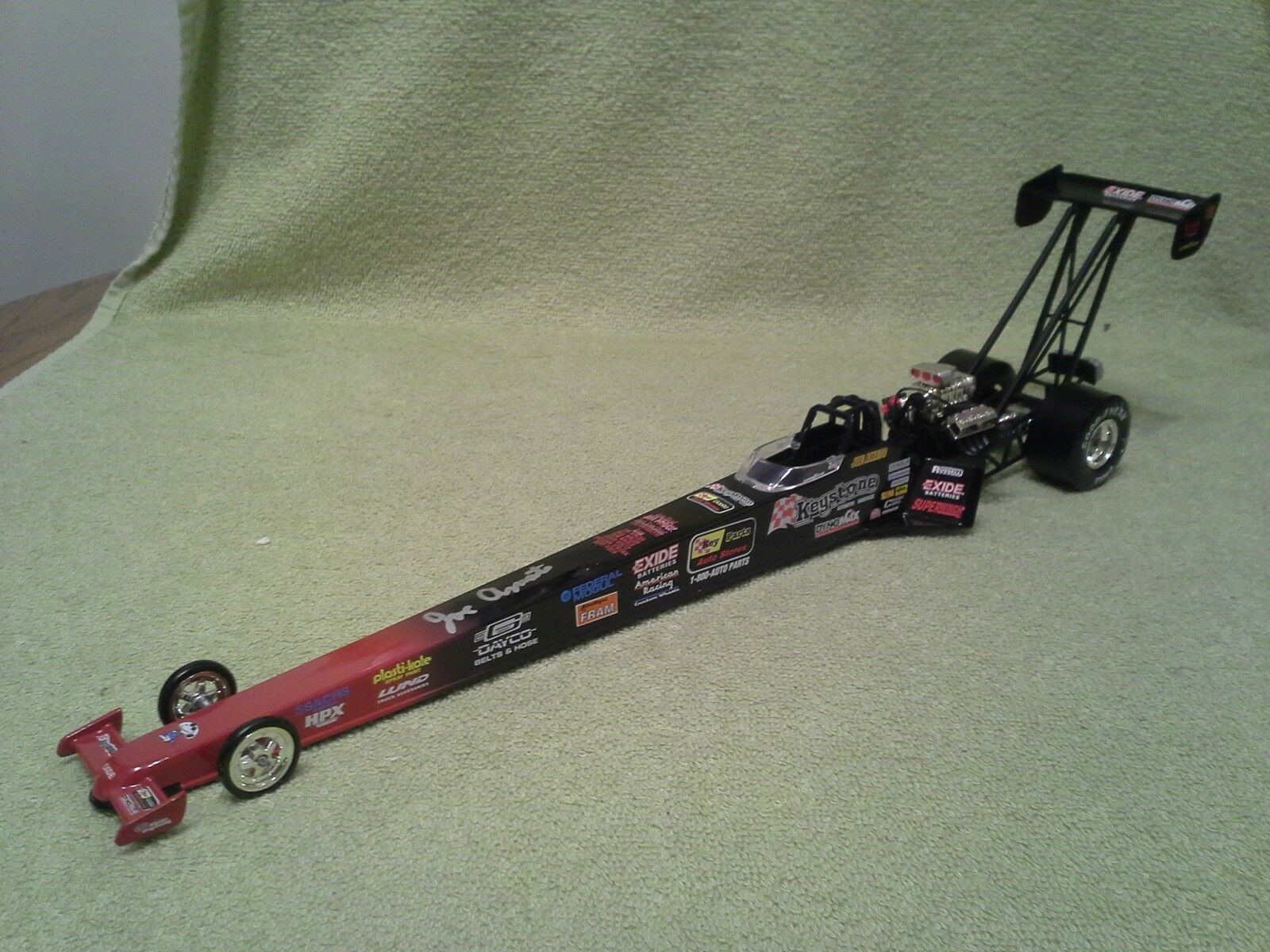 1996 Action JOE AMATO Keystone Autographed NHRA Fuel Dragster 1 24 Diecast