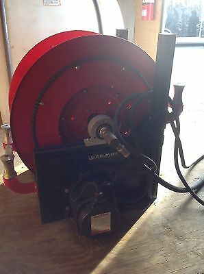 Hydraulics, Pneumatics, Pumps & Plumbing Methodical Reelcraft Large Frame Reel Motor Driven Barely Used Refreshment