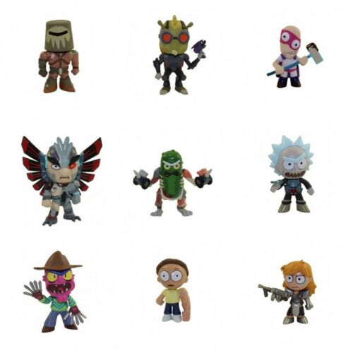 Funko Mystery Minis Rick /& Morty 2 FIGURES x 9  New Pickle Rick and