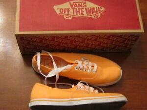 NUOVO senza etichette VANS autentici dal Sneaker Lacci Wall arancio fluo da  uomo 5.5 WMS 7   eBay
