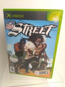 Nfl Street 1 ORIGINAL Microsoft XBOX Complete Football Game Hard Hits Fun