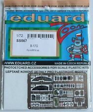 Eduard 1/72 SS567 Colour Zoom etch for the new Airfix B-17G Flying Fortress kit