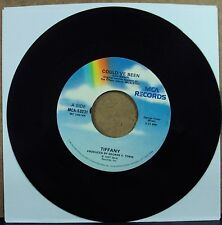 "TIFFANY Could've Been/The Heart Of Love 7"" 45 OOP late-80's teen-pop"