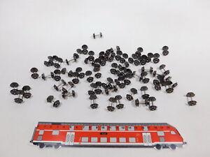 CT370-0,5# 65x Roco H0 40196 nicht isolierte Spitz-Radsätze/Scheibenräder, NEUW