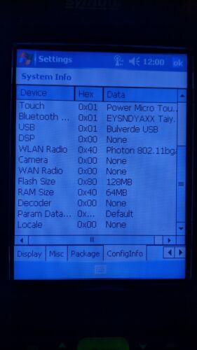 Motorola Symbol MC70 MC7090-PU0DJRFA8WR Windows Mobile 5 Barcode Scanner WiFi